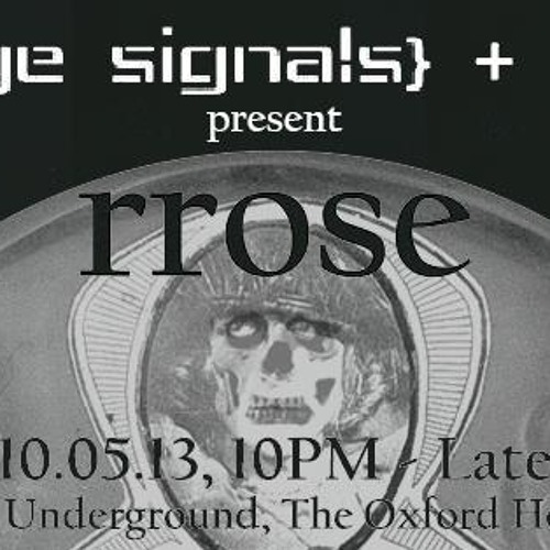 XXX 3 Deck Set @ Strange Signals & Anomaly Presents Rrose (Live) Sydney Australia 10/5/2013