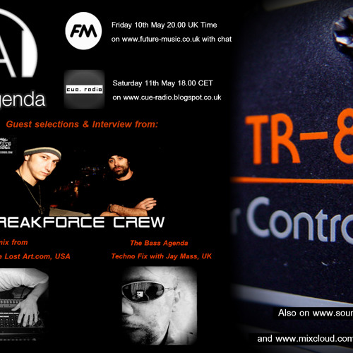 BA 53 Techno fix, selections: The Freak Force Crew, mix: Dave Calculator + Tribute to Giuseppe Mereu