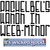 Pachelbel's Kanon (in Weeb minor)