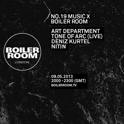 NO.19 MUSIC X BOILER ROOM: ART DEPARTMENT, DENIZ KURTZEL