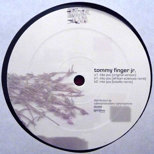 "Tommy Finger Jr. - Into You EP (12"")"