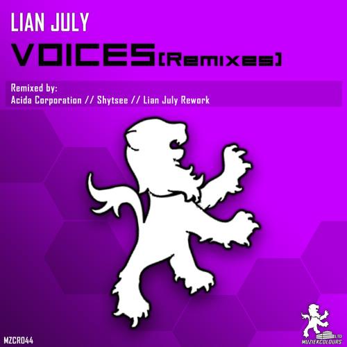 Lian July - Voices (Acida Corporation Remix) out soon on Muziek Colours rec