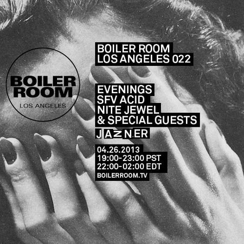 Evenings 40 Minute Live Set Boiler Room Los Angeles