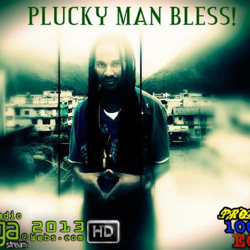 PLUCKY MAN-EN EL JAH wwww.radiovegastream.webs.com DUBPLATE