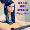 Tiffany Alvord - Here's To Never Growing Up ( Avril Lavigne )