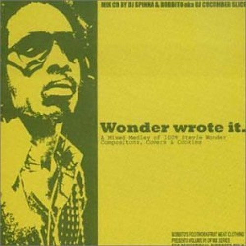 Wonder Wrote It Vol. one (Dj Spinna Mix)