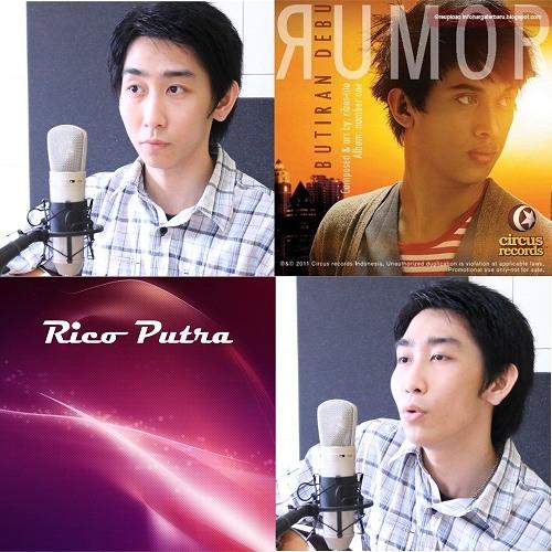Rumor - Butiran Debu (Cover By Rico Putra) Acoustic Version