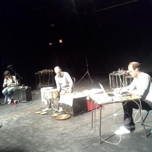 trio with Chris Cogburn & Dafne Vicente Sandoval, live @ NoIdea Festival, Austin
