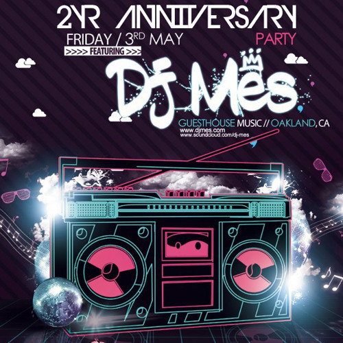 DJ Mes Live @ FunkStruk 5.3.13