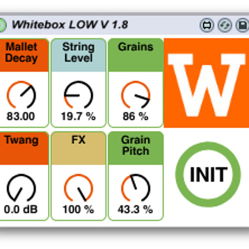 "WHITEBOX ""LOW"" Max for Live Instrument Demo"