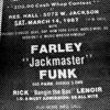 Farley Jackmaster Funk - WBMX Chicago 1987