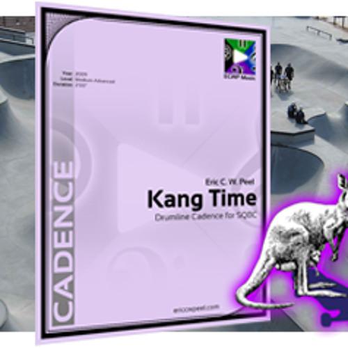 Kang Time - Drumline Cadence