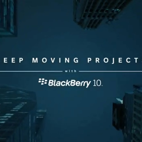 Blackberry Keep Moving Projects