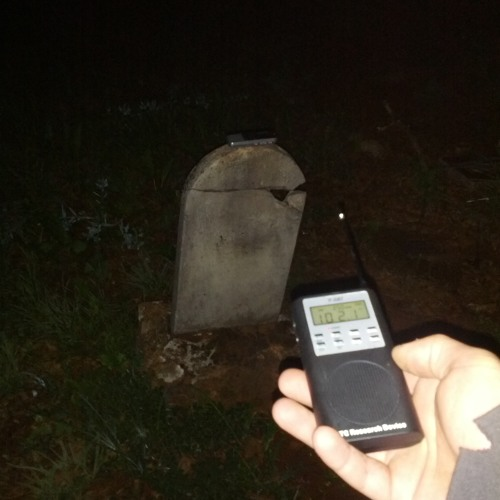 spirit Activity at cemetery
