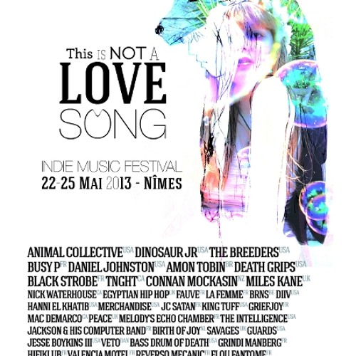 This Is Not A Love Song 2013