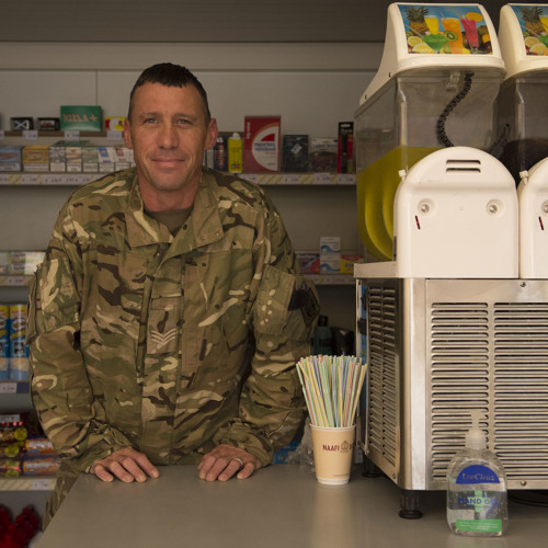 Glasgow Soldier Brings Taste Of Home To Soldiers In Afghanistan - Sgt Phillip Brannigan RLC (EFI)