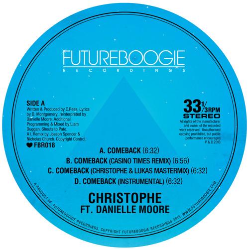 Christophe feat. Danielle Moore - Comeback (Casino Times Remix)