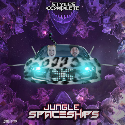 Jungle Spaceships by Styles&Complete