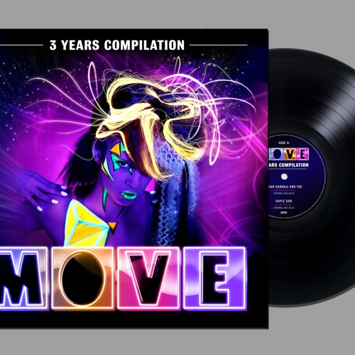 BRIAN SANHAJI & TOE - Radical Adjustment - Move Compilation (vinyl only)