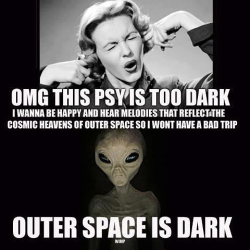 Outer Space is DARK