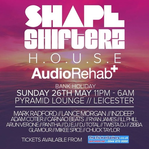 DJ EJ - Shapeshifters (26-05-13) PART 2 House n Bass promo mix
