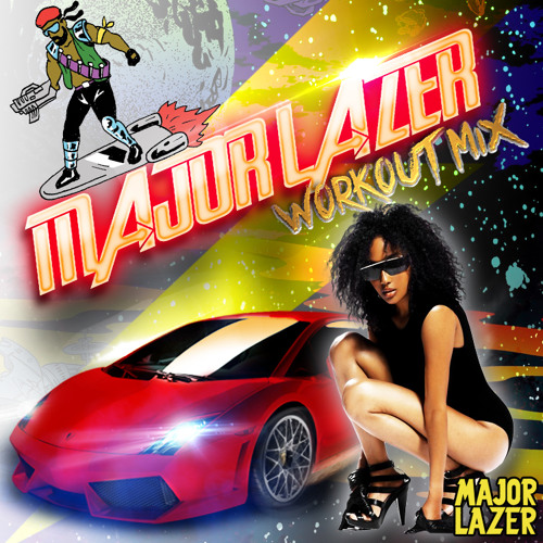 Major Lazer Workout Mix (May 2013)