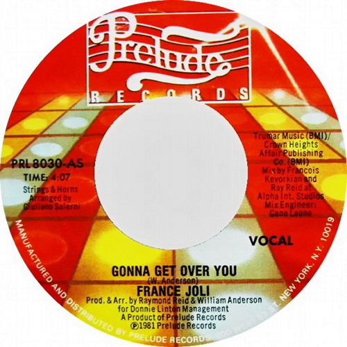 "France Joli - Gonna Get Over You (Dj ""S"" Bootleg Dance Re-Mix)"