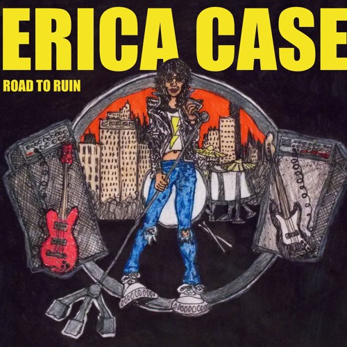 Ramones- Road to Ruin COMPLETE Album Cover by: Erica Case