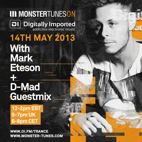 Monster Tunes 039 with Mark Eteson + D-Mad Guestmix