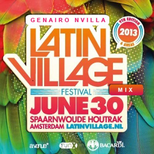 Genairo Nvilla - Latin Village 2013 Mix