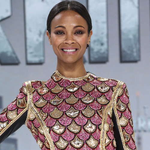 Zoe Saldana Explains Why She May Raise a Kid With Another Woman