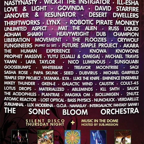 Sonic Bloom 2013 Sampler