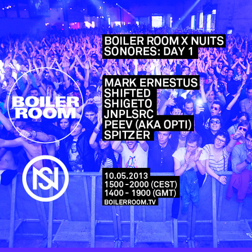 Spitzer LIVE in the Boiler Room x Nuits Sonores