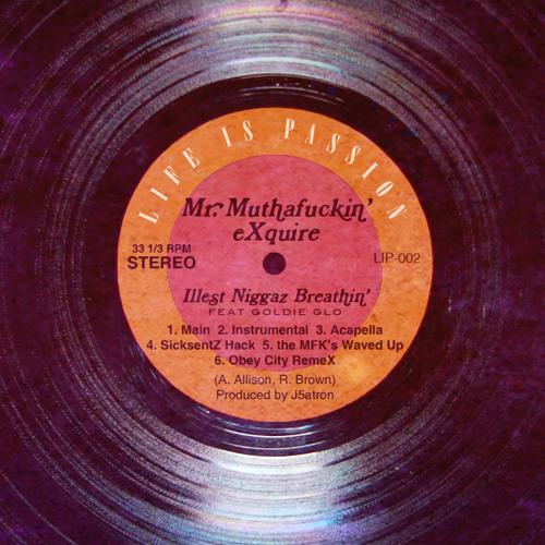 02 Mr. Muthafuckin' eXquire - Illest Niggaz Breathin' feat. Goldie Glo (Instrumental)