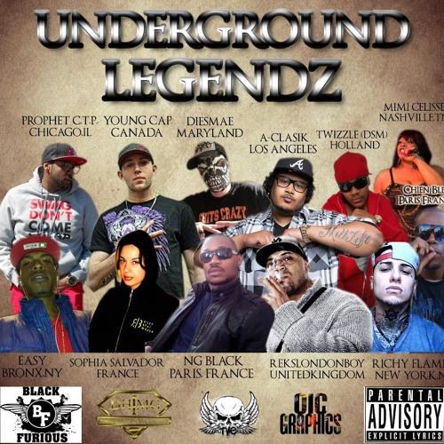Ng Black Undround Legends feat Mimi ,A-clasik,Diesmae,Easy,Prophet,Reks,Sophia,Young C,Twizzle,Chien