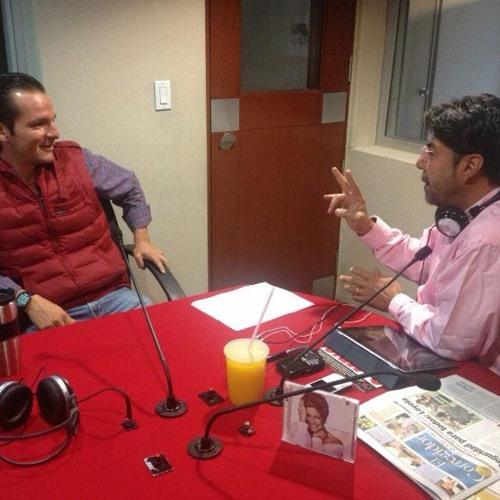 Entrevista por el 104.9 FM con Raúl Moreno