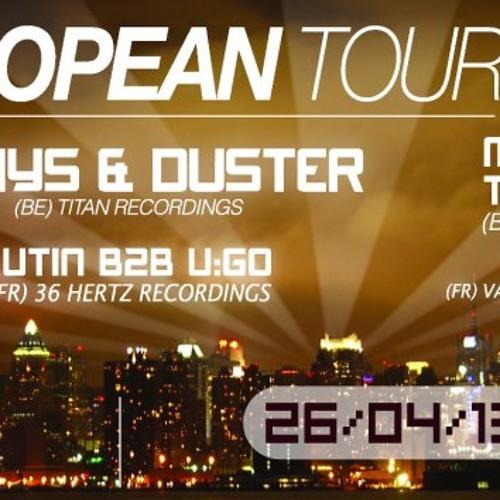 Jaa & Antera set for M&T EUROPEAN TOUR