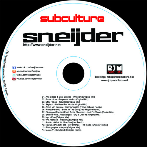 Sneijder Promo Mix Vol.4