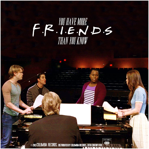 You Have More Friends Than You Know (glee version) (cover)