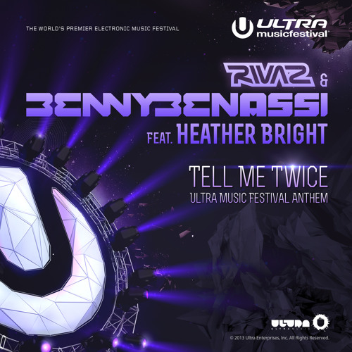 Tell Me Twice (Bright Lights Remix) (feat. Heather Bright) - Benny Benassi & Rivaz