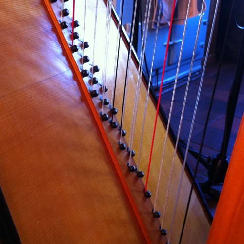 Celtic Harp Recording