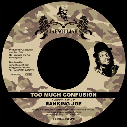 RANKING JOE - TOO MUCH CONFUSION
