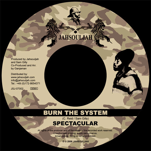 SPECTACULAR - BURN THE SYSTEM