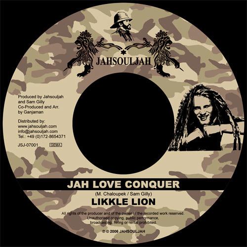 LIKKLE LION - JAH LOVE CONQUER