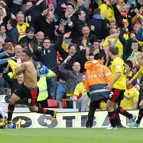 Watford radio commentary - Playoff semifinal