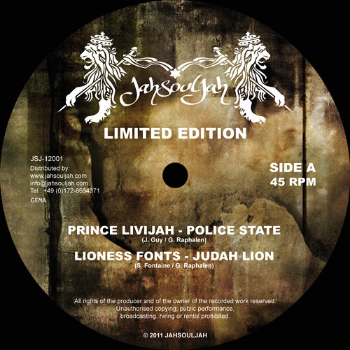 LIONESS FONTS - JUDAH LION