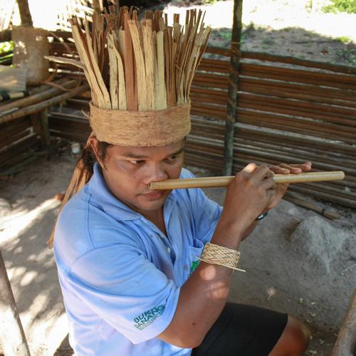 Raman Bah Tuin - Sinui Pai (played on nose flute)