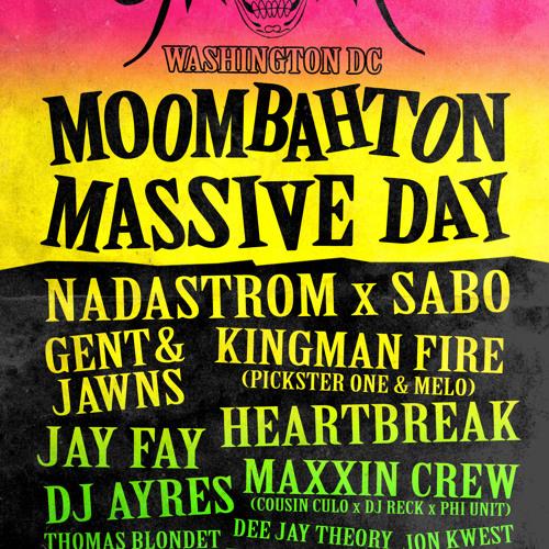 Dave Nada - Moombahton Massive Day Mix - 2013