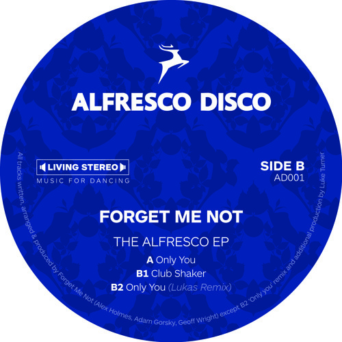 Forget Me Not - The Alfresco EP (Preview)