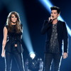 Adam Lambert and Angie Miller Performing Titanium 5-16-2013 on American Idol